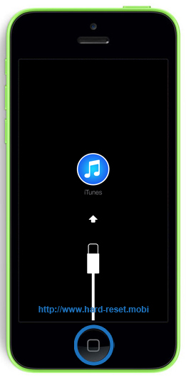 Apple iPhone 5c Recovery Mode