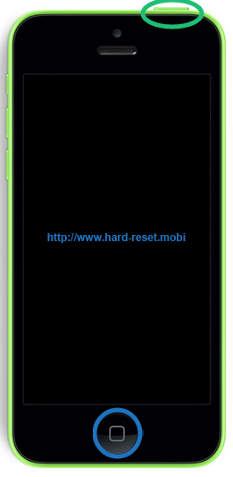 how to hard reset iphone 5c apple iphone 5c soft reset 4831