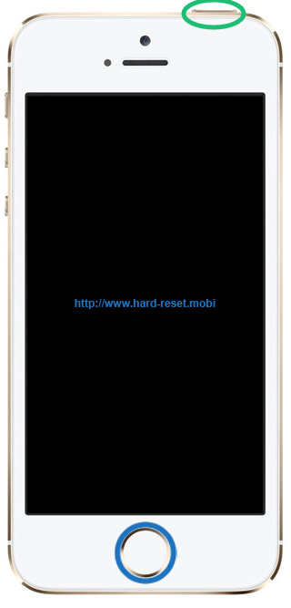 Apple iPhone 5s Soft Reset