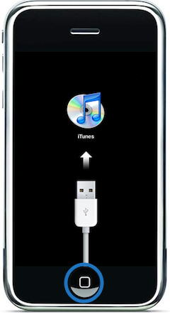 How to enter iPhone 2G into Restore Mode