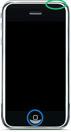 Apple iPhone 2G Soft Reset