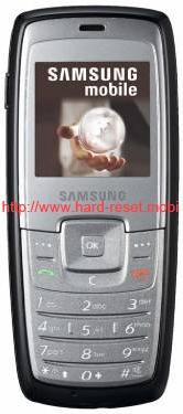 Samsung SGH-C140 Hard Reset