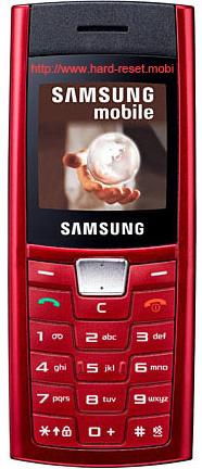 Samsung SGH-C170 Hard Reset