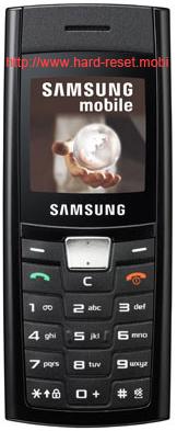 Samsung SGH-C180 Hard Reset