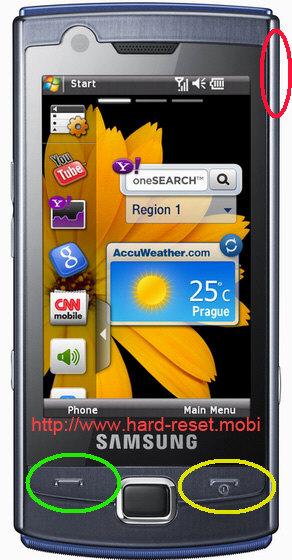 Samsung GT-B7300 Omnia Lite Hard Reset