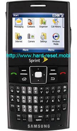 Samsung ACE SPH-i325 Soft Reset