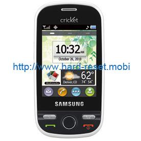 Samsung SCH-R631 Hard Reset