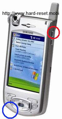 Samsung SPH-i700 Hard Reset