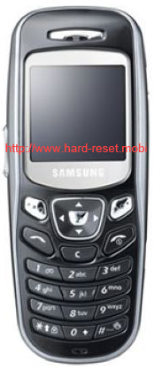 Samsung SGH-C230 Hard Reset