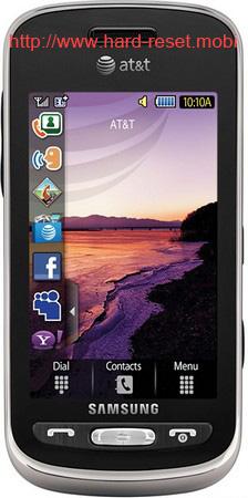 Samsung SGH-A887 Solstice Hard Reset