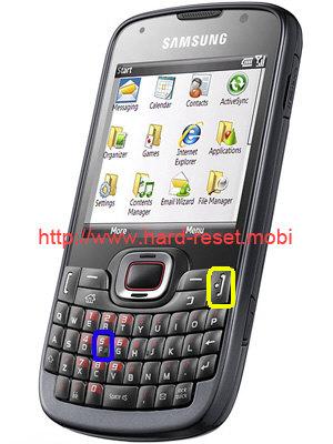Samsung GT-B7330 Omnia Pro Hard Reset