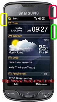 Samsung GT-B7610 Omnia Pro Hard Reset