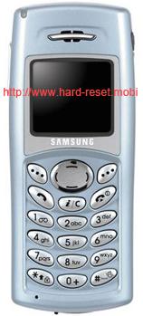 Samsung SGH-C110 Hard Reset