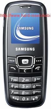 Samsung SGH-C120 Hard Reset
