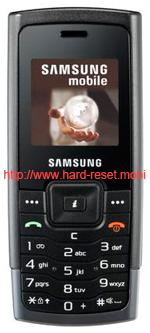 Samsung SGH-C160 Hard Reset