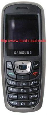 Samsung SGH-C210 Soft Reset