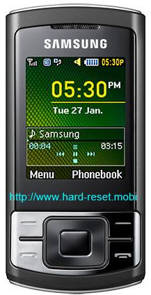 Samsung SGH-C3050 Hard Reset