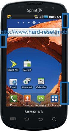 Samsung Epic 4G D700 Hard Reset