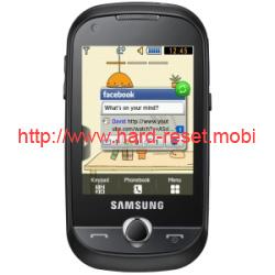 Samsung GT-B5310r Corby Pro Hard Reset