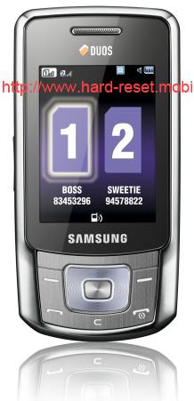 Samsung GT-B5702 Duos Hard Reset
