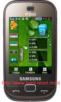 Samsung GT-B5722 Duos Hard Reset