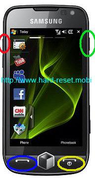 Samsung Omnia 2 GT-I8000 Hard Reset