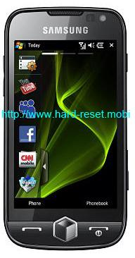 Samsung Omnia 2 GT-I8000 Soft Reset