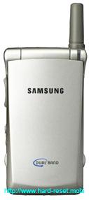Samsung SGH-A110 Hard Reset