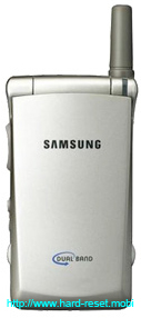 Samsung SGH-A110 Soft Reset