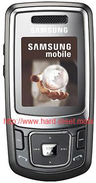 Samsung SGH-B520 Hard Reset