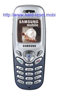 Samsung C200 Hard Reset