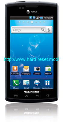 Samsung Captivate SGH-i897 Soft Reset