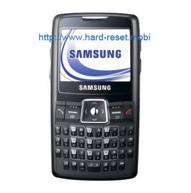 Samsung SGH-i320 Soft Reset