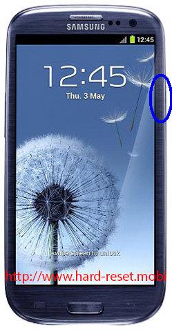Samsung Galaxy S3 GT-I9300 Soft Reset