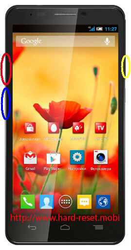 Alcatel Idol S Hard Reset