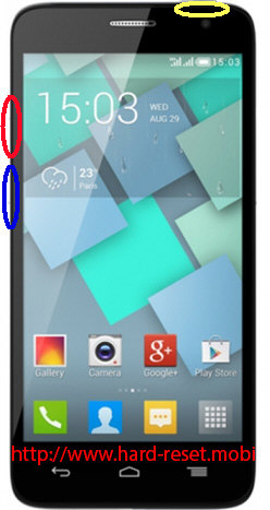 Alcatel One Touch 6012x Hard Reset
