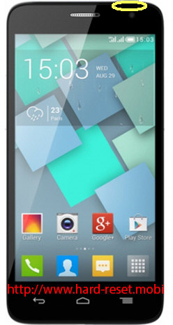 Alcatel One Touch 6012x Soft Reset