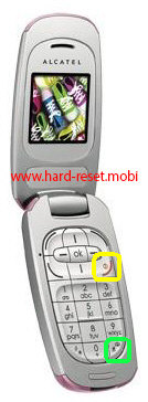 Alcatel OT-E227 Hard Reset