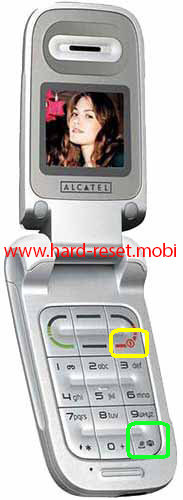 Alcatel OT-E220 Hard Reset