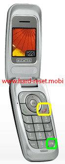 Alcatel OT-E221 Hard Reset