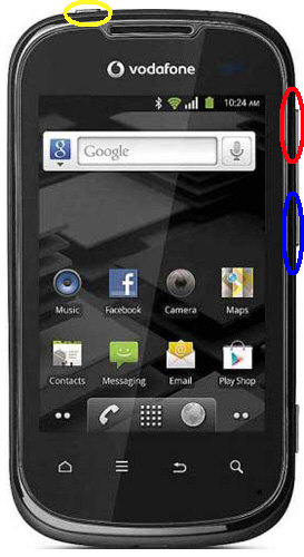 Alcatel V860 Hard Reset