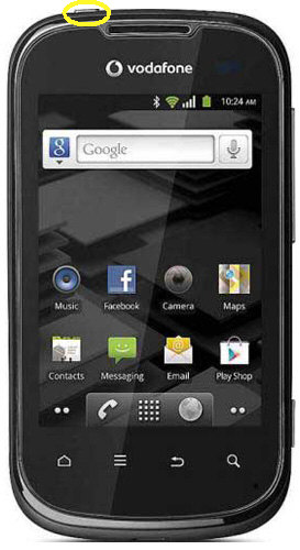Alcatel V860 Soft Reset