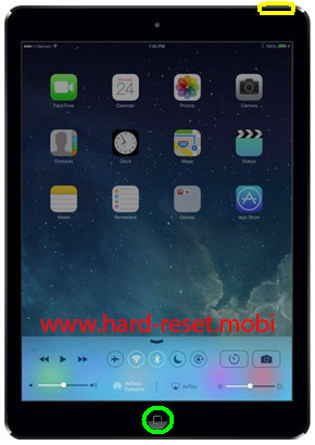 Apple iPad Air Soft Reset