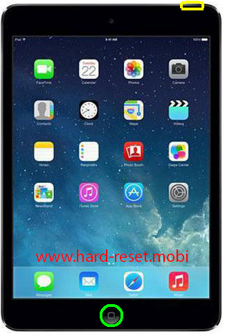 Apple iPad Mini 2 Retina Soft Reset