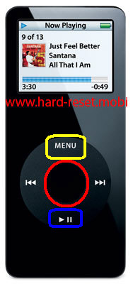 Apple iPod Nano Disk Mode