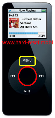 Apple iPod Nano Soft Reset