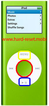 Apple iPod Nano 2G Disk Mode