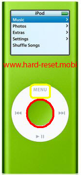 Apple iPod Nano 2G Soft Reset