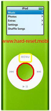 Apple iPod Nano 2G Soft Reset