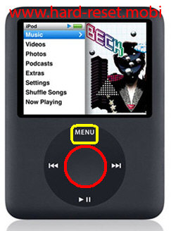 Apple iPod Nano 3G Soft Reset